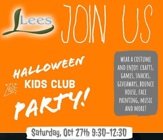 Lees Halloween Party!