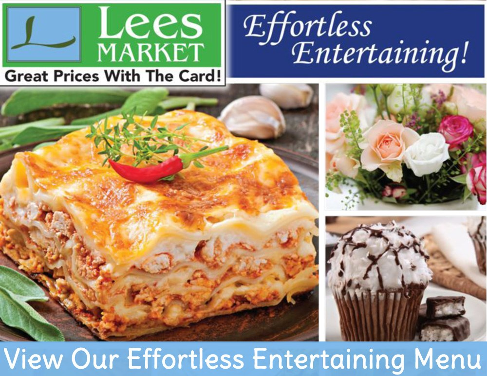 View Our Effortless Entertaining Menu!