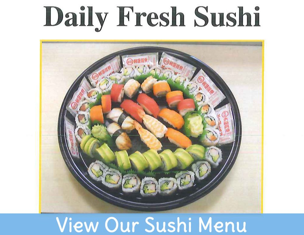 View Our Sushi Menu!